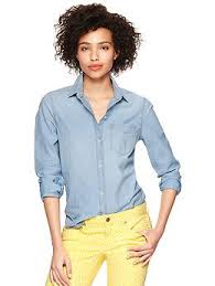 Tracey Evelyn The Chambray Shirt