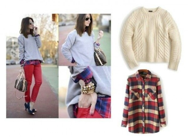 Tracey Evelyn 3 ways to layer a sweater 1