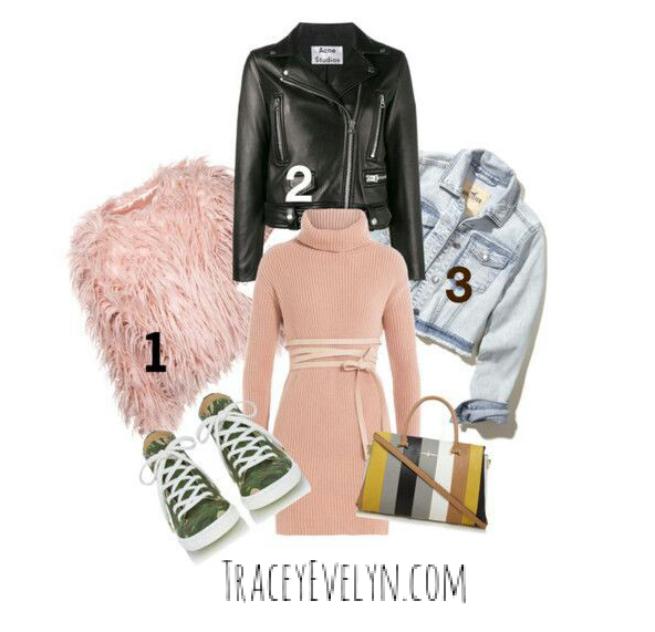 Tracey Evelyn Super Bowl Outifit Idea