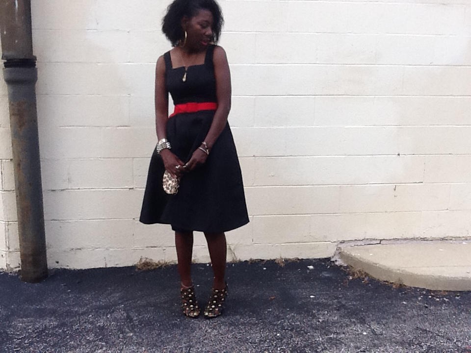 Tracey Evelyn In a dress