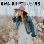 How To Make Your Own Simply Chic Ripped Jeans